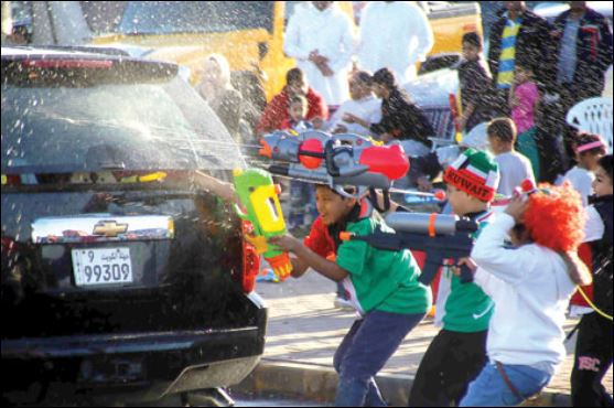 Prevent Water Guns During National Day Events