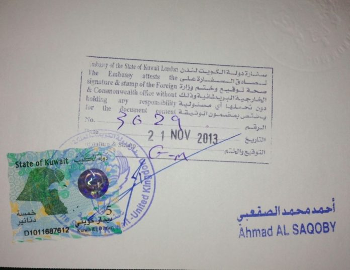 Original academic certificates needed for residency renewal