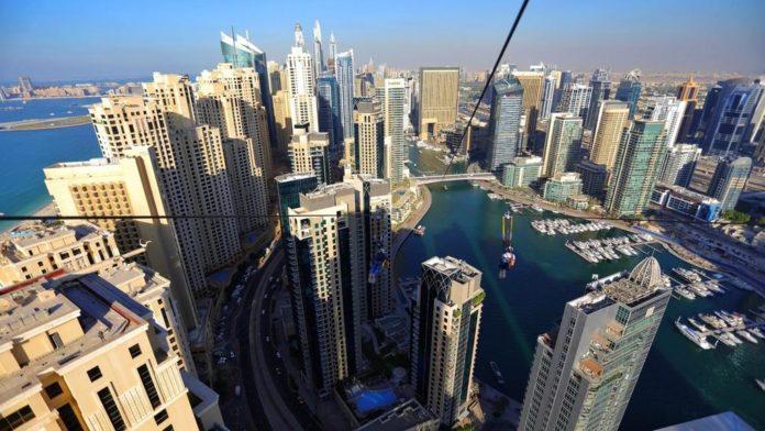 World's longest urban zipline open for business in Dubai