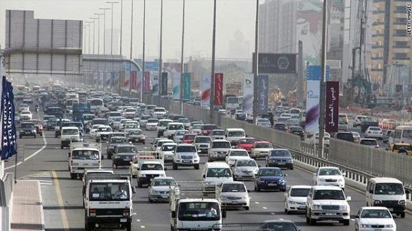 Roads in Kuwait monitored with surveillance cameras