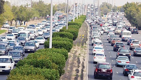 GCC traffic week from March 11, 2018