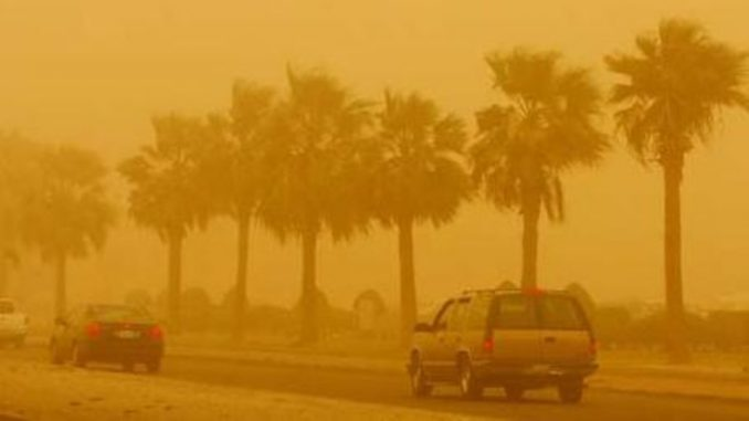 MoI warn drivers to be cautious during dust