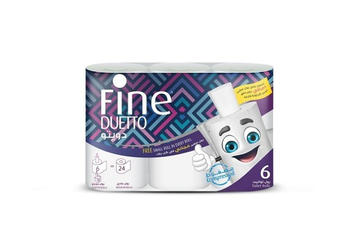 Toilet Paper Innovation Sets Fine Hygienic Holding on a Roll