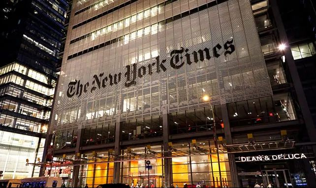 New York Times To Cease Political Cartoons After Anti-Semitism Row