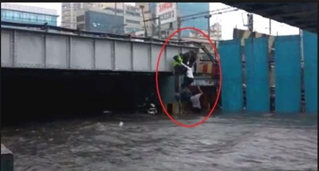 Mumbai rains updates: Lady brought out of waterlogged at Milan subway in Andheri