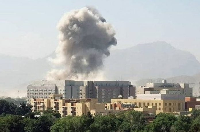 Afghanistan: Terrorist explosion in Kabul people & government are in fear