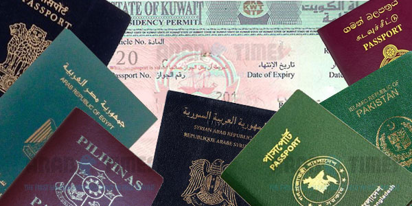 In Kuwait no dependent visa for kids beyond 12 years of age