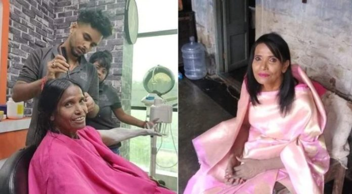 The internet sensation Ranu Mondal makes her debut as a playback vocalist