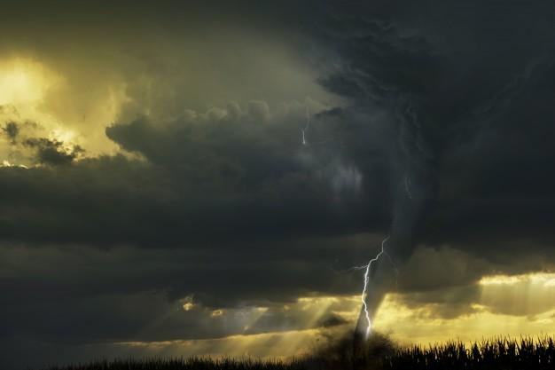 Watch: Cloud Formation Like Tornado in Gujarat's Sabarkantha Province