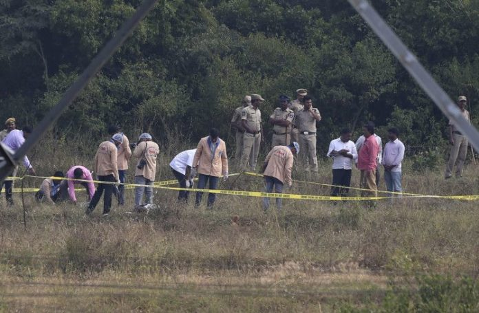 Justice finally obeyed; ' Hyderabad terror ' rape-murder suspects shot to dead