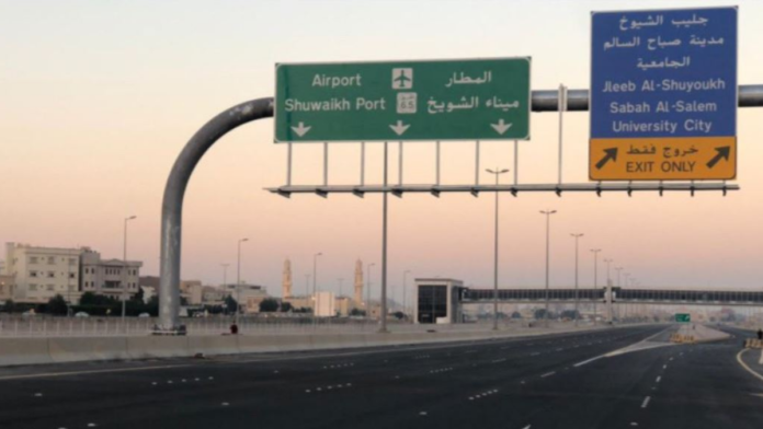 Kuwait opens new road to ease traffic congestion