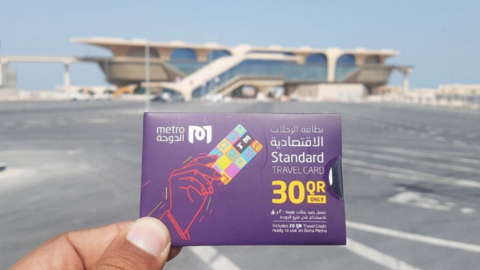 Doha Metro halts use of paper tickets to protect environment