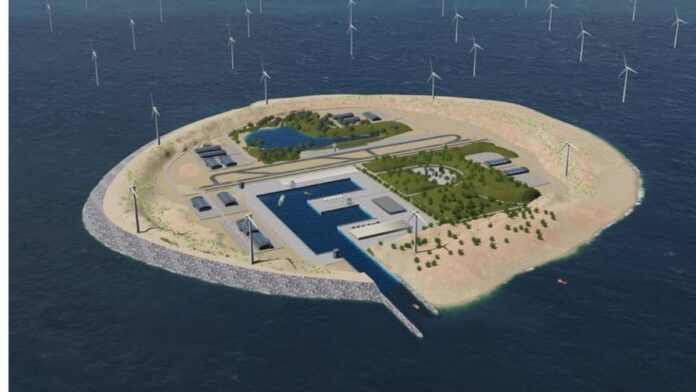 Denmark to build the world's first energy island